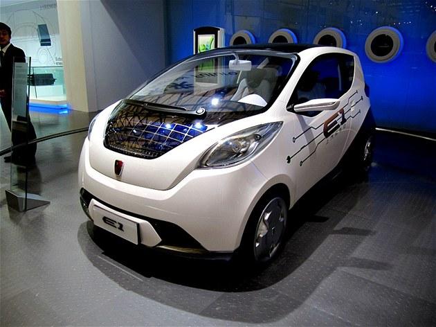 Elektromobily potkáváte na ka�dém kroku. Vají�kovitý koncept postavila jedna z