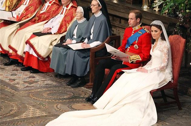 Královská svatba Kate Middletonové a prince Williama ve Westminsterském opatství. (29. dubna 2011)