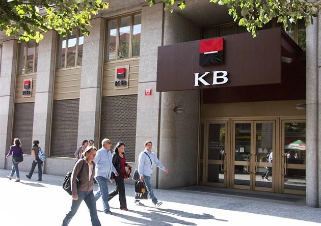 Budova Komer�ní banky
