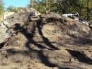 Po výbuchu v pardubické Explosii zůstala v místě, kde stával bunkr, jen hlína a kusy betonu.