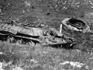 Po válce zůstaly na Opavsku stovky válečných strojů.