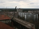 Pripjať, město, které vzniklo v roce 1970 na příkaz shora. Stejně tak o šestnáct let zaniklo.