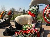Vera Toptunova, matka Leonida Toptunova, kter� pracoval jako kontrolor reaktoru ��slo 4 a p�i hav�rii zem�el