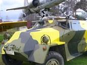 Letadla a vojenská technika jsou k vidění v Air parku u Třemošné.