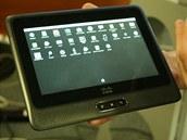 Cius v netradiční roli běžného tabletu s aplikacemi pro Android