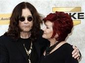 Osbourne s manželkou Sharon