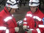 Záchranáři Sibřina o.s. se systémem GINA