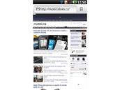 LG Optimus 2X (prohlížeč)