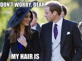 """""""Neboj, drahý, moje vlasy jsou dost dobré za nás za oba."""""""