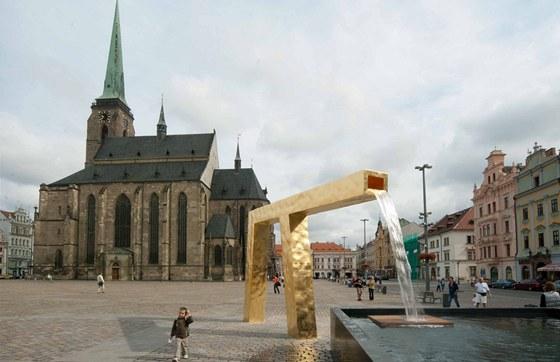 Kategorie Architektonick� design, drobn� architektura a v�tvarn� d�lo: T�i ka�ny pro Plze�, autor: Ond�ej  C�sler