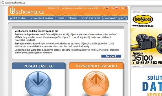 Úschovna.cz