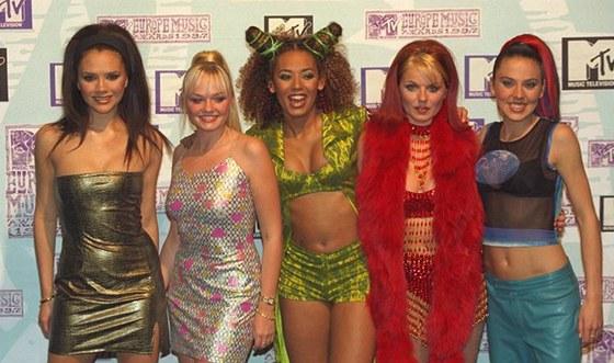 Skupina Spice Girls vznikla v roce 1994