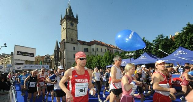 Pra�ský maraton 2011