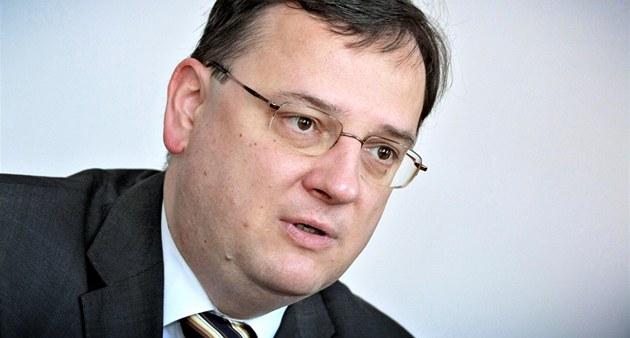 Premiér Petr Ne�as