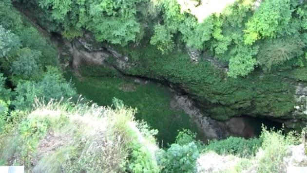 Pohled do Macochy z Horního m�stku