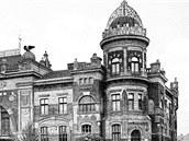 Polsk� d�m v Ostrav� v roce 1903.