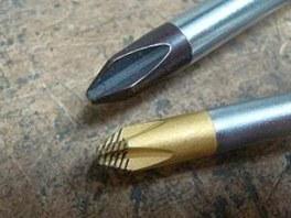 Rozdíl mezi běžnou philipskou a technologií Lasertip