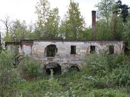 Ze zámku v Ostravě-Kunčičích zůstaly jen ruiny.