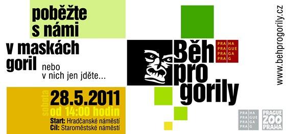 Plakát Běhu pro gorily