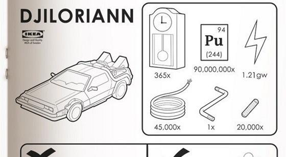 Ikea auto pro cesty v čase
