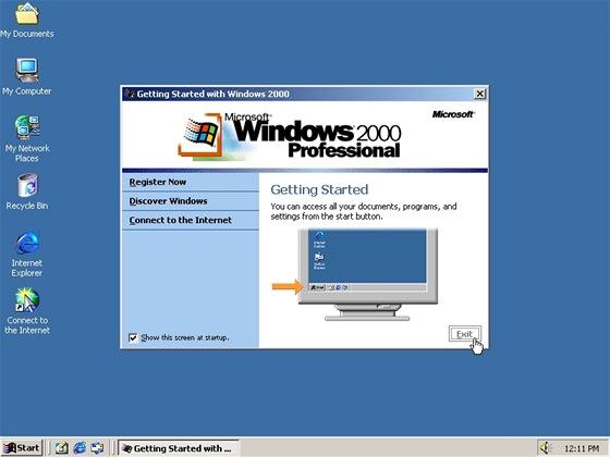 Pro provoz jednoduchého souborového serveru si vystačíte i se starším, méně výkonným počítačem a historickými Windows 2000