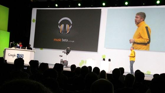 Music Beta si odbyla premiéru před vývojáři na I/O konferenci v San Franciscu