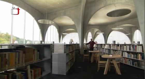 Knihovna Tama Art University, Tokio – Setagaya, Toyo Ito, 2007