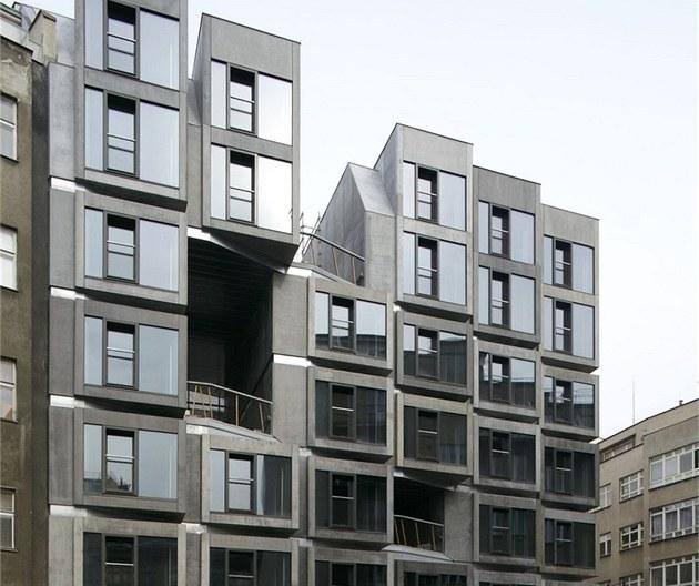 Grand prix architekt� 2011, bytový d�m s malometrá�ními byty a t�locvi�nou, Lodecká 1, Praha 1, autor: Petr Burian / DAM