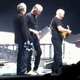 �lenov� Pink Floyd se se�li na p�edstaven� The Wall v lond�nsk� O2 ar�n�