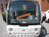 Elektromobil Služeb města Pardubic