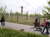 Rozhledna Bohdanka u obce Bohdaneč na Kutnohorsku