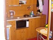 Pohled do kuchyňského koutu