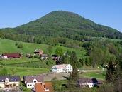 Růžovský vrch ze Srbské Kamenice