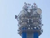 Vyrovnávací věž nad Zlíchovem