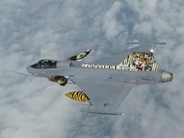 Letoun Jas-39 Gripen elitn� tyg�� letky