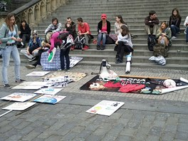 V Praze se uskutečnila Veggie Parade, akce vegetariánů a ochránců práv zvířat