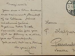 Z archivu Evy Perrové, praneteře Jana Kašpara