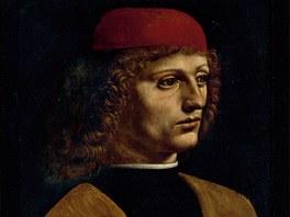 Leonardo da Vinci: Portrét hudebníka