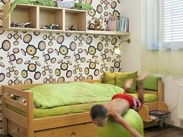 Dětské pokoje jsou hravější a barevnější, což odpovídá věku jejich obyvatel. Zdroj: www.mujdum.cz