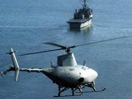 Bezpilotní vrtulník MQ-8B Fire Scout