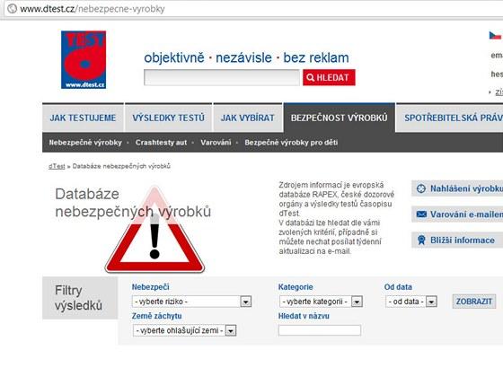 Nebezpečnévýrobky.cz