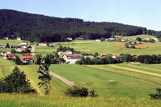 Krajina vokolí dvojměstí Aigen-Schlägl