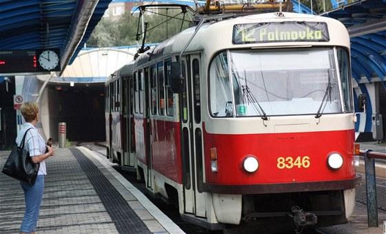 Tramvajová trať Hlubočepy - Sídliště Barrandov