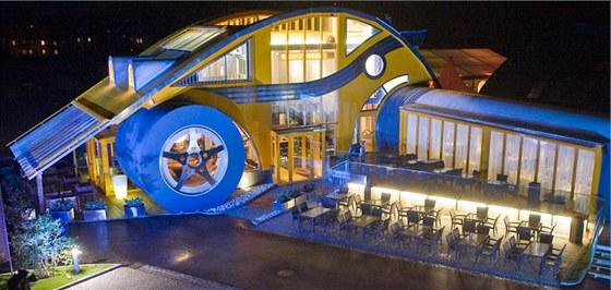 Restaurace je inspirovaná modelem VW Beetle.