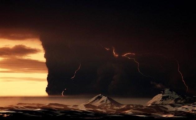 Krajina kolem vulk�nu připom�n� Mordor (23. května 2011)