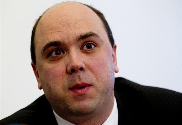 Nám�stek ministra spravedlnosti Filip Melzer