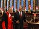 Barack Obama s reverendem Johnem Hallem ve Westminsterském opatství (24. května 2011)