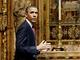 Barack Obama ve Westminsterském opatství (24. května 2011)