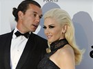 Gwen Stefani a Gavin Rossdale v Cannes