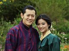 Nejmladší monarcha světa si v Bhútánu bere o jedenáct let mladší dívku